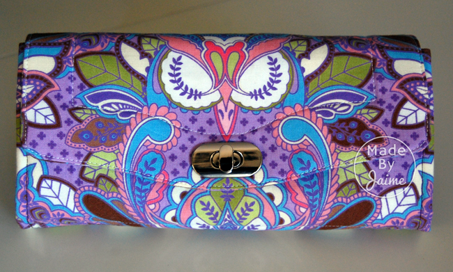 Tula Pink Necessary Clutch Wallet | MadeByJaime