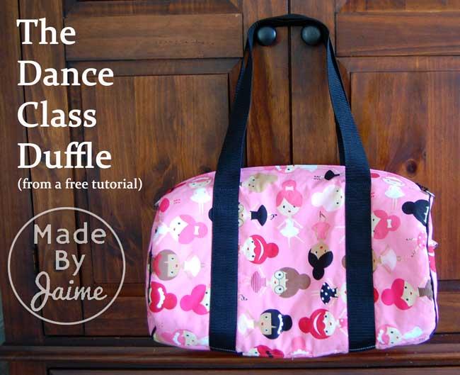 Dance Class Duffle | MadeByJaime